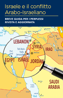 Cover of the Israel and the Arab-Israeli Conflict: A Brief Guide for the Perplexed Revised and Updated written in Italian