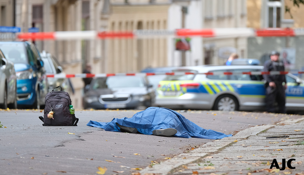 Photo after the attack in Germany